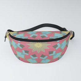 Geometric star Fanny Pack