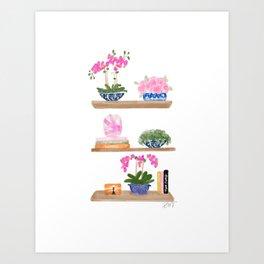 Chinoiserie Chic Art Print