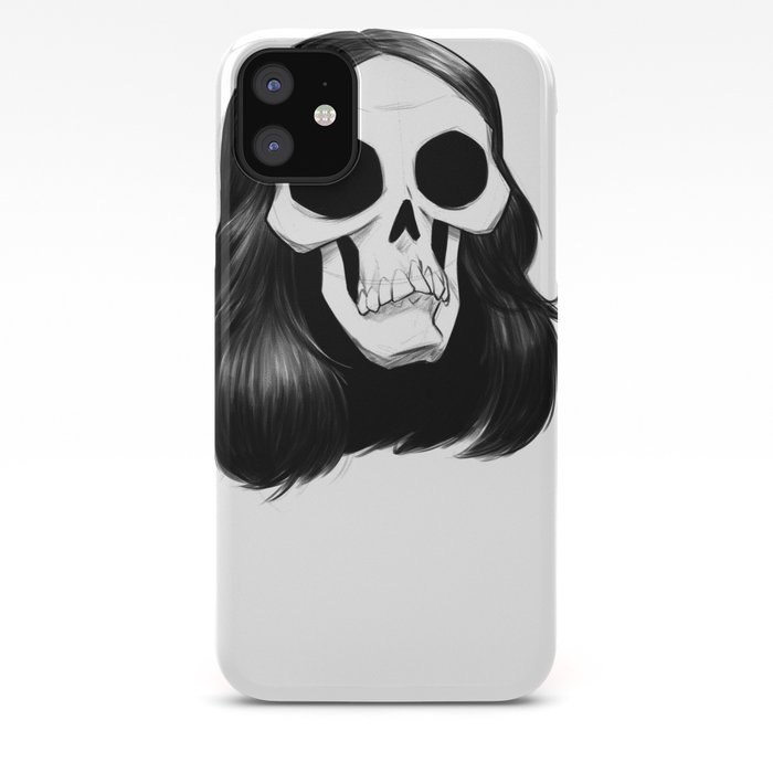 Raven and Skull iPhone 11 case