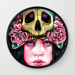 The Face of Death Wall Clock