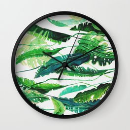 tropical compilation horiz. Wall Clock