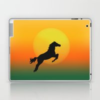 Jumping Laptop & iPad Skin