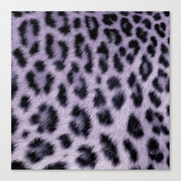 Leopard skin pattern Canvas Print