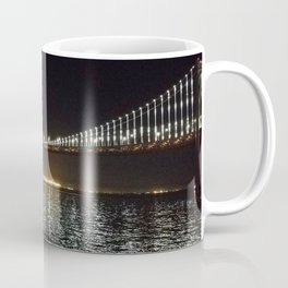 Bay Bridge Night Time Coffee Mug
