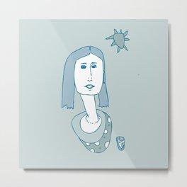 Portrait 1 Metal Print
