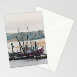 Cape Cod Fishing Boat Stationery Cards