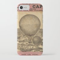 ballon iPhone & iPod Cases featuring Ballon Captif by DAChiemsee