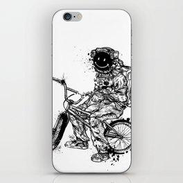 Void in Space (Blk) iPhone Skin