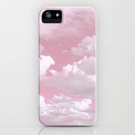 Clouds in a Pink Sky iPhone Case