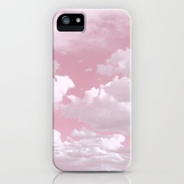 Clouds in a Pink Sky iPhone Case