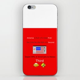 America FIrst iPhone Skin