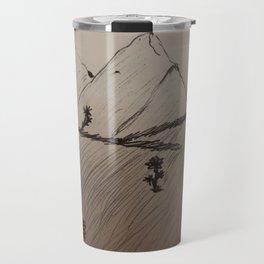 Simple field Travel Mug