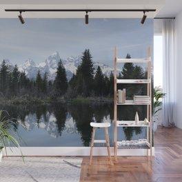 Grand Teton Reflections Wall Mural