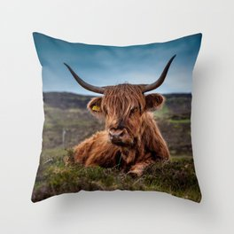 Beef Nature Throw Pillow