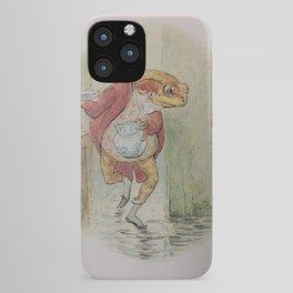 Jeremy Fisher by Beatrix Potter iPhone Case