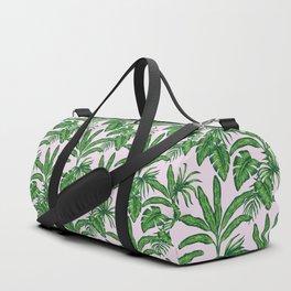 banana trees marker pattern Duffle Bag