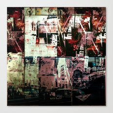 Concrete Jungle 2 Canvas Print