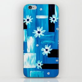 Abstract Daisies iPhone Skin