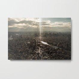 Tokyo View Metal Print