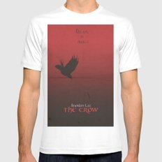 The Crow MEDIUM Mens Fitted Tee White