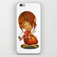 Heartache iPhone & iPod Skin