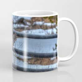 Dive, Dive, Dive! - Great Grey Owl Hunting Coffee Mug