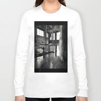 welcome Long Sleeve T-shirts featuring Welcome by Robin Curtiss