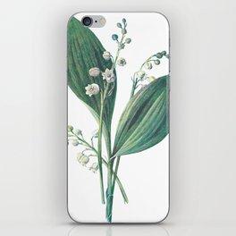 Watercress Plant Painting Artwork iPhone Skin