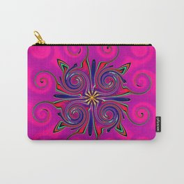 Pink Mechanical Octopus Carry-All Pouch