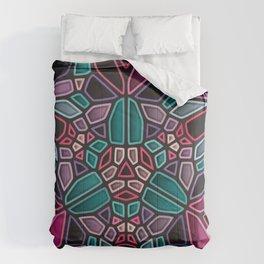Dark Zone - Voronoi Comforters