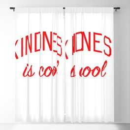 Kindness is Cool Blackout Curtain