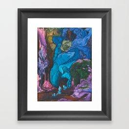 Pareidolia #2: Sepulchral Hollow Framed Art Print
