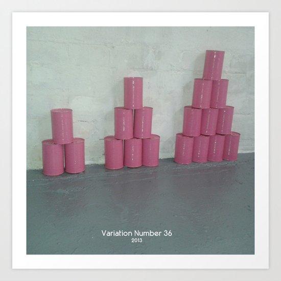 Variation Number 36 (photo) Art Print