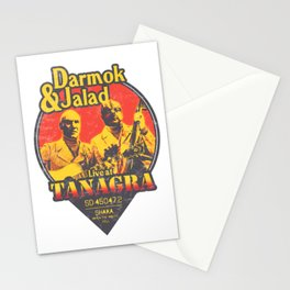 Darmok and Jalad at Tanagra - Sunset Stationery Cards