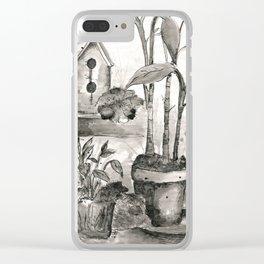 Bird House Clear iPhone Case
