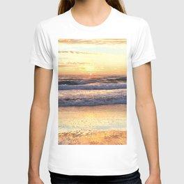 Golden Beach Sunrise T-shirt