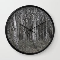 unicorns Wall Clocks featuring Unicorns by iKRGeu