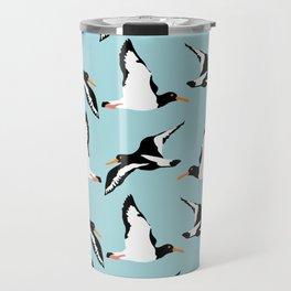 Seabirds in flight Travel Mug