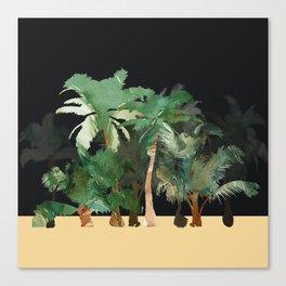 Tropical Landscape Canvas Print