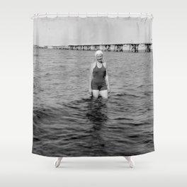 Die Meeresstille Shower Curtain