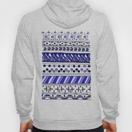 Yzor pattern 002 blue Hoody