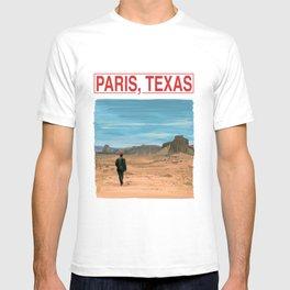 Paris Texas Illustration by Wim Wenders T-shirt