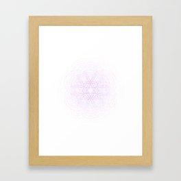 Fractal Force Framed Art Print