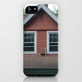 Chair on the roof iPhone Case