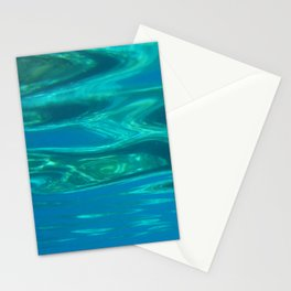 Below the surface - underwater picture - Water design Stationery Cards