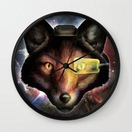 Star Fox McCloud Epic Space Poster Wall Clock