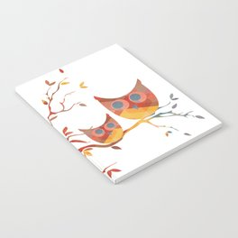 Perched Owls Notebook