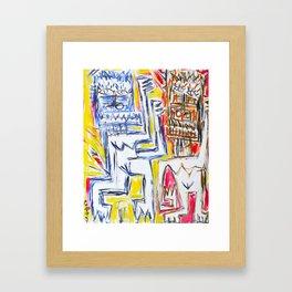 Fire Tribe Framed Art Print