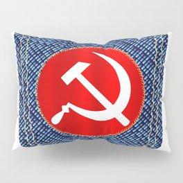 Russian Denim Pocket Pillow Sham