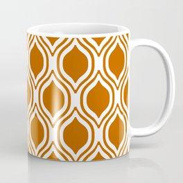 Texas longhorns orange and white university college texan football ogee Coffee Mug